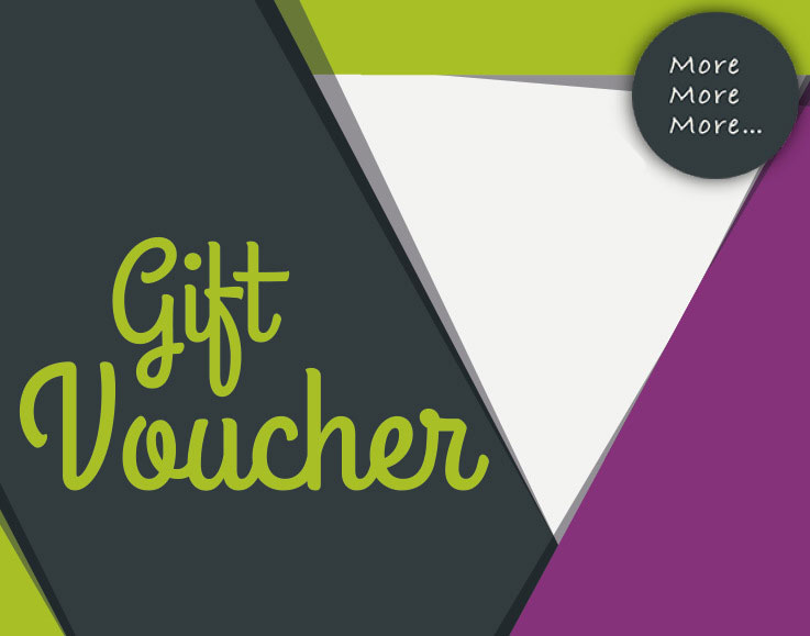 More More More Digital Gift Voucher