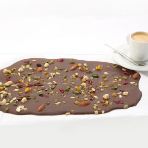 nutty chocolate slab
