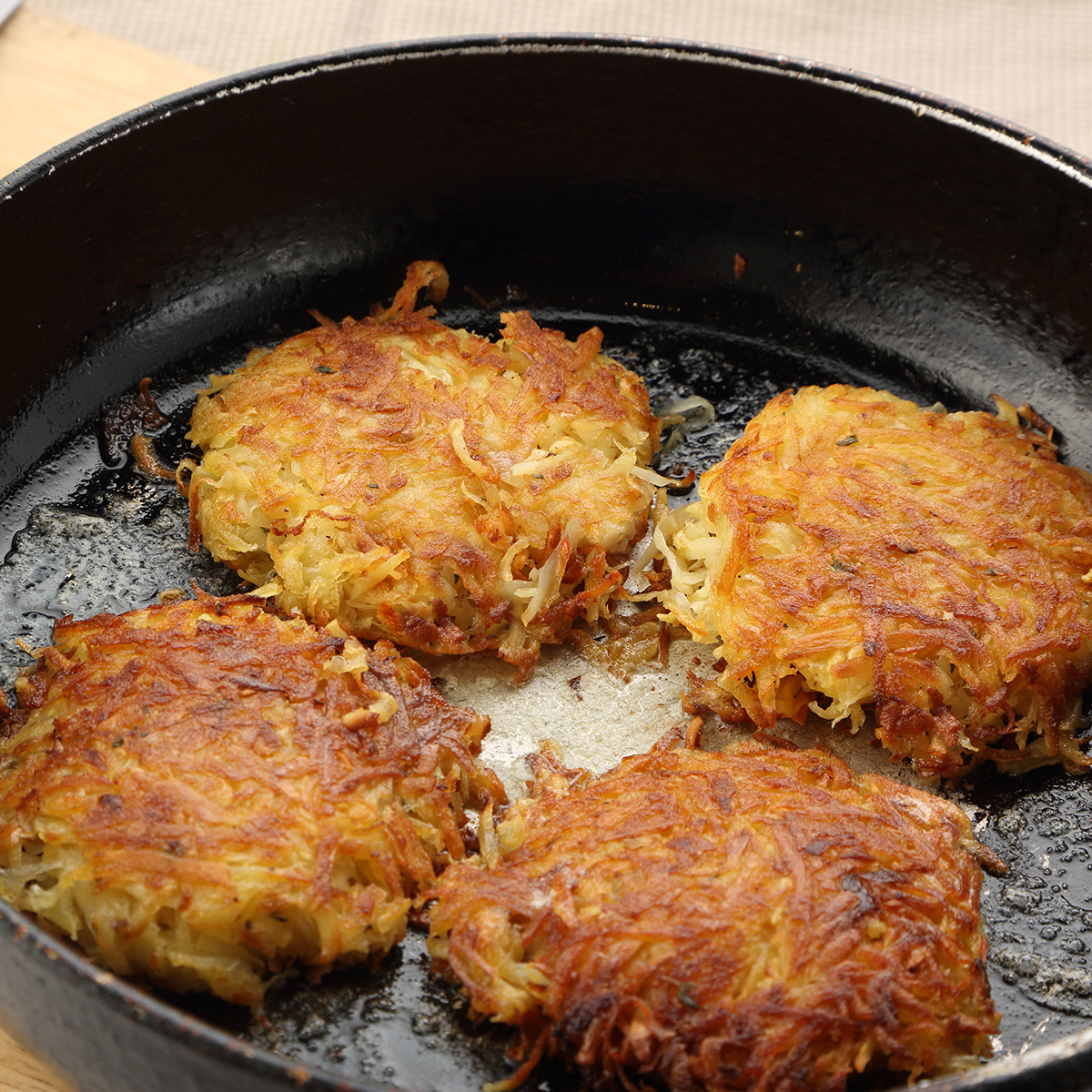 Potato And Parsnip Rosti Home Cooked Food Delivered